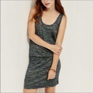 NWT Lou Grey Heathered Sleeveless Casual Dress M